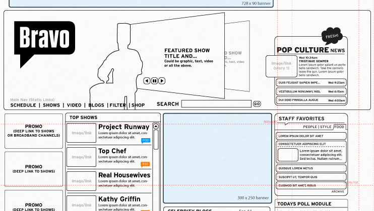 web design wireframe examples - Khafre